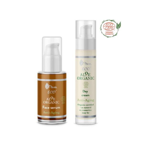 Pack-Aloe organic serum crema natural ecologico antiarrugas rejuvenecedor2